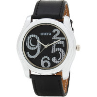 Oura Black Dial With Black Strap WBSBL-111 Analog Watch For Men