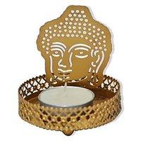 Jaz Deals Shadow Buddha Tea Light Candle Holder