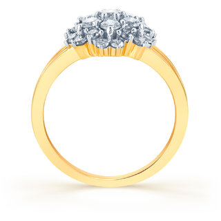 Karatcraft Ice flower Gold Purity 18Kt.