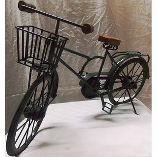 Madho wooden iron cycle for home decoration a