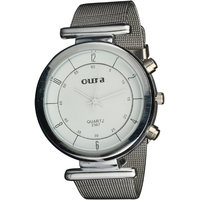 Oura White Dial Party-Wedding WIWCH-126 Metal Watch For Women