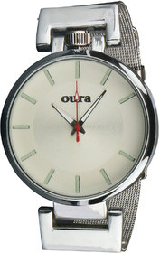 Oura White Dial Party-Wedding WIWCH-125 Metal Watch For Women