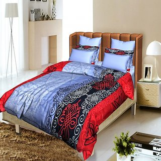 Story @ Home grey 1 Double Quilt / Comforter-CF1208
