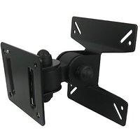 MOVABLE WALL MOUNT BRACKET KIT FOR 10-24 LED LCD PLASMA TV MONITOR TFT SCREEN