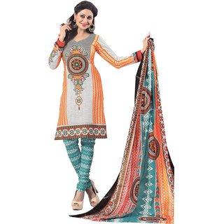 Cotton Printed Regular Dress Material