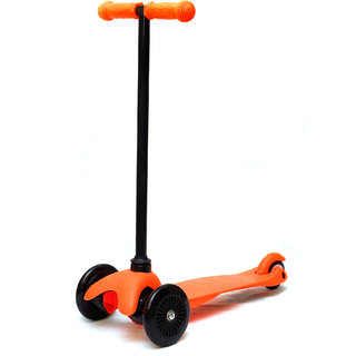 Grabby Three Wheels Kids/ children kick scooter with T Bar - S909AO (Orange)