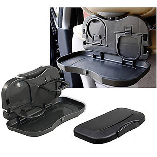 Takecare Car Back Seat Drink Holder With Tray For Maruti Alto K 10-2014