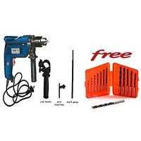 13mm Powerful Drill Machine With 13 PC Drill Bits Set Free