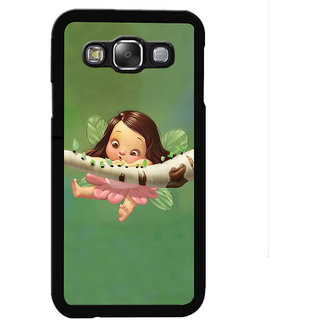 Instyler Digital Printed Back Cover For Samsung Galaxy E7 SgE7Ds-10045
