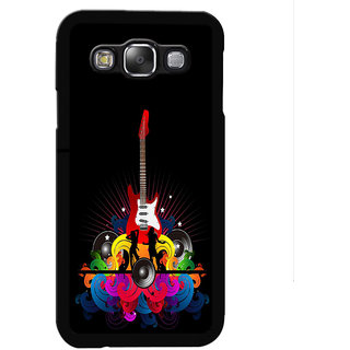 Instyler Digital Printed Back Cover For Samsung Galaxy E7 SgE7Ds-10053