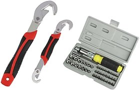 9-32 mm All in one Multi Purpose Double Sided Wrench  41 PCS Ratchet Screwdrive