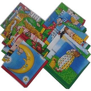 12 Piece Ladies Hand Kerchiefs 29 CM X 29 CM 100  Cotton Material