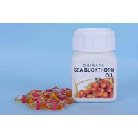 Seabuckthorn Seed Oil,500 Mg, 30 Veg Caps, Anti Aging  7 Supplement