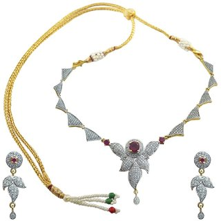American Diamond Necklace Sets for women