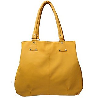 Creative PU Ladies Bags yellow