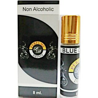 Blue Channel-Essential Oil 8Ml Non Alcoholic Attar-Essential Oil