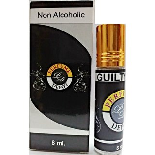 Guilty-Essential Oil 8Ml Non-Alcoholic Attar-Essential Oil