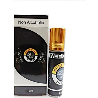 Weekend-Essential Oil 8Ml Non-Alcoholic Attar-Essential Oil
