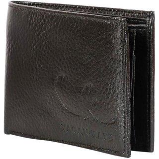 Vagan-kate NDM brown leather wallet for men