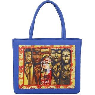 Stylish digital print handbag
