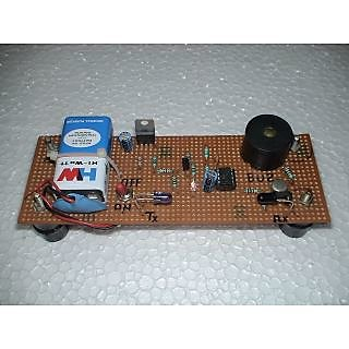 IR Infrared based Intruder Detector-DIY Assembled Kit Electronics Projects