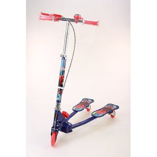 Spiderman Frog Scooter