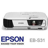 Epson EB-S31 3LED SVGA projector Brightness 3200lm with HDMI Port