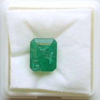 Rashiratn Natural Square EMERALD Loose Gemstone