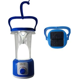 Onlite-Solar LED Emergency Light with In-Built Solar Panel and Brightness Contro