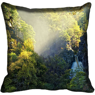 meSleep Nature Digitally Printed Cushion Cover (16x16)