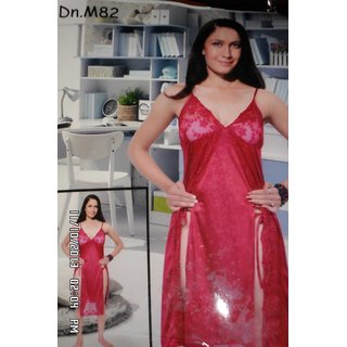 2a7e538ea4 Sexy Nighty With Centre Legs Revealing Slit With Lower Deep Neck Style  Prices in India- Shopclues- Online Shopping Store