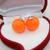 4 PAIRS 2015 New Trendy Design Acrylic Pendientes Jewelry Stud Earring