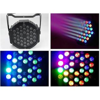 UNIQUE - Flat Par Light 36 x 1W LED Mini Flat RGB Par Dj Disco Party DMX Stage L
