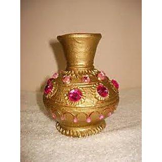 225 & Golden Designer flower pot