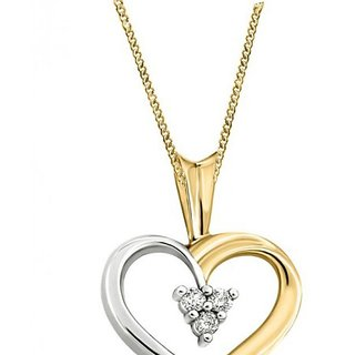 1c218bc0fb Kaara Diamond   Gold Heart Valentine Pendant Design-5 Prices in India-  Shopclues- Online Shopping Store
