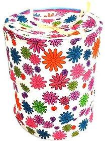 Dfame White,Orange Laundry Bag