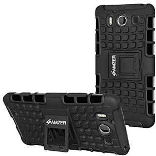 Amzer Case With Stand For Microsoft Lumia 950 (Black)