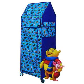 s4d CSM blue kids multipurpose folding almirah