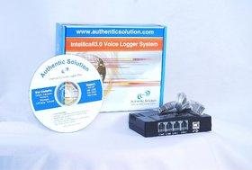 4 Port USB Intellicall Voice Logger/Recorder
