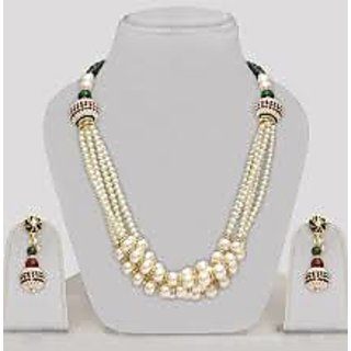 Pearl Artificial Jewellery Set