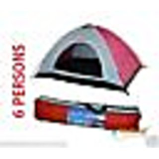 Anti ultraviolet 6 Person Outdoor Camping Tent Portable Tent Tant Portable