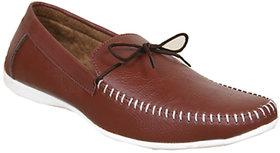 Sukun Men Brown Loafer Shoes