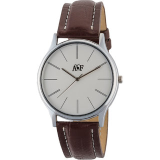 Always  Forever White Dial Watch For Men Afm0080001