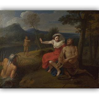Vitalwalls Nessus and Dejanira Canvas Art Print (Figure-022-30cm)