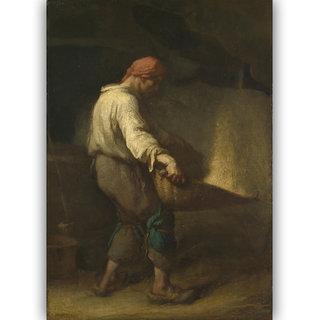 Vitalwalls The Winnower Canvas Art Print (Figure-023-30cm)