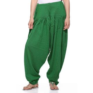 Green Woolen Salwar