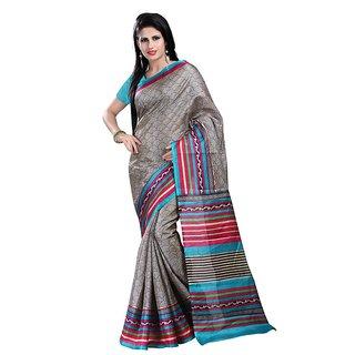 1st Home Multicolor Bagalpuri Silk Saree