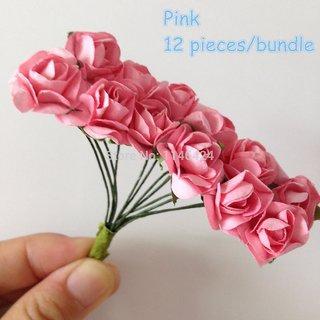 stocking flower handmade