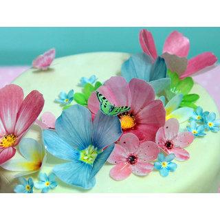 silk lily flower handmade