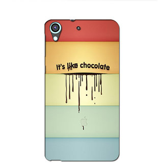 Instyler Premium Digital Printed 3D Back Cover For Htc 626 3DHTC626DS-10026